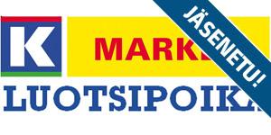 K-market Luotsipoika - Luotsipojasta Herkkutäytepatongin ostajalle limutölkki 0,33L ILMAISEKSI! Herkkutäytepatonkeja valittavan savulohi, paahtopaisti sekä kana. Herkullinen eväs moneen tilanteeseen!